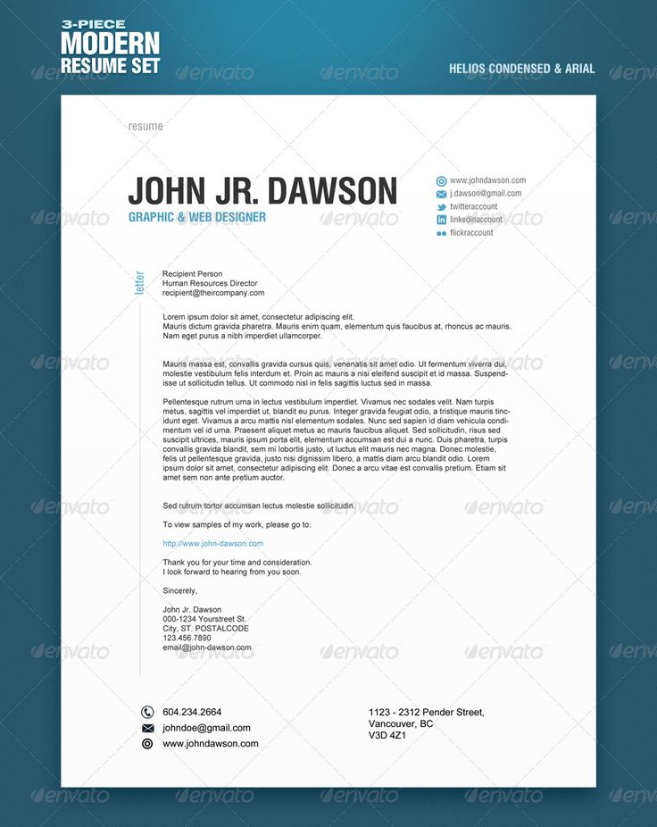 55 best Resume Styles images on Pinterest Resume styles, Design - example of modern resume