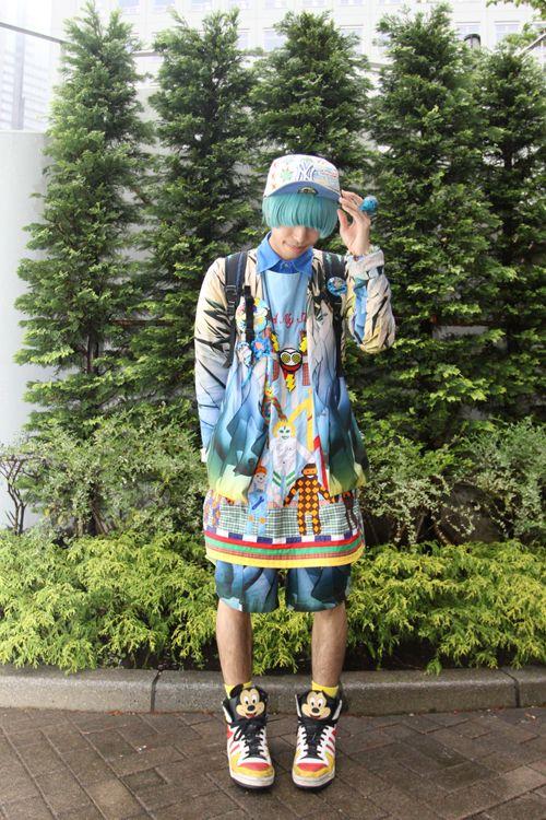 Harajuku street fashion | japanese street fashion