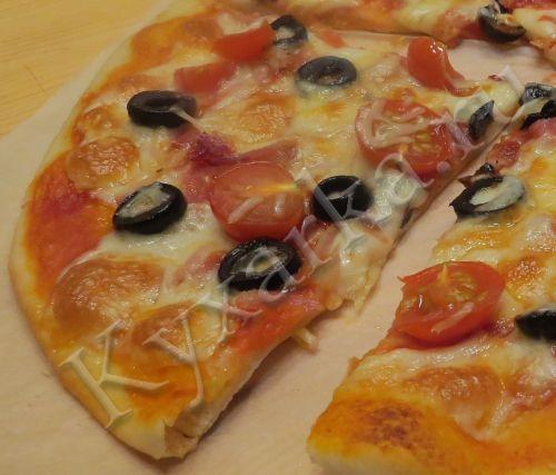 Кухарка: домашняя кухня, видео, кулинария, рецепты, советы, фото| Быстрое тесто для пиццы (с медом)