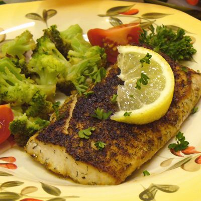 Lemon Mahi Mahi Recipe - Fish Recipes I did the marinade for the fish pieces but not the sauce, as we had salad with it. Baked 375degrees F for about 25 minutes.