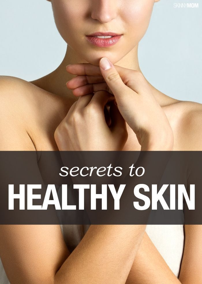 Healthy skin tips!