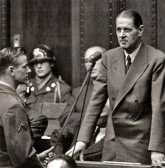 Eugenics Nuremberg Trial 1948 - Fritz Ter Meer, head of the worlds largest pharmaceutical company, BAYER - IG Farben