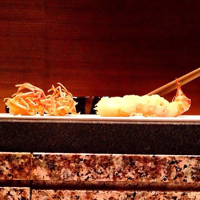 Exquisite tempura for lunch in Tokyo. www.travelifemagazine.com