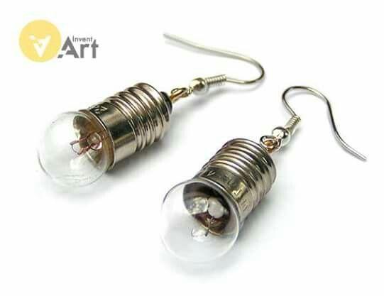 Tesla earrings by Invent-Art