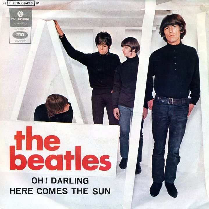 The Beatles - Oh! Darling / Here Comes The Sun single sleeve, 1969