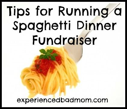 Tips for Running a Spaghetti Dinner Fundraiser, like buy the box of wine to drink afterwards, not just a bottle, and delegate, delegate, delegate!