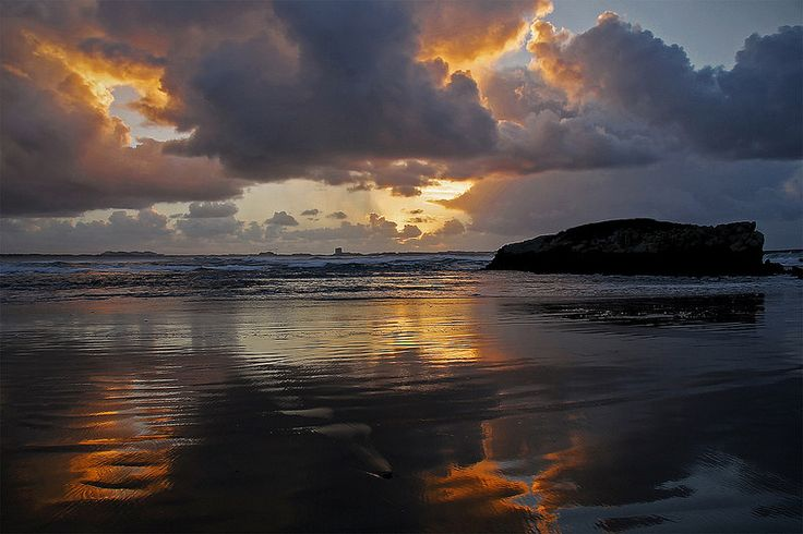 Sunset at Baleal Beach, PORT. | by Hugo J. Ferreira