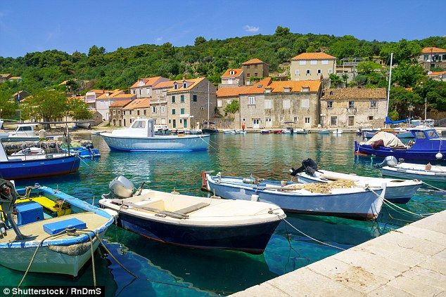 Peace personified: The village of Sudurad, on Sipan island, is Croatia at its loveliest