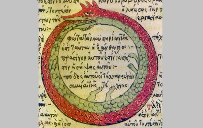 Ouroboros - http://mythology.net/others/concepts/ouroboros/