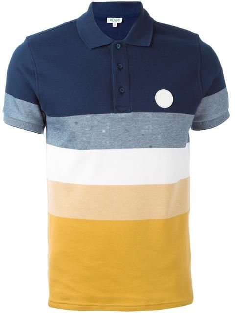 Shop Kenzo striped polo shirt in Stylesuite from the world's best independent boutiques at farfetch.com. Shop 400 boutiques at one address.