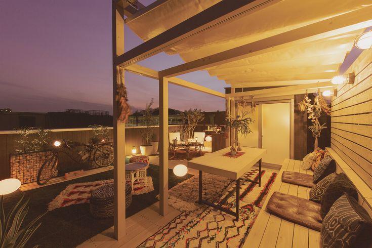 木造住宅専用の屋上リビング|プラスワンリビング(Plus One Living)