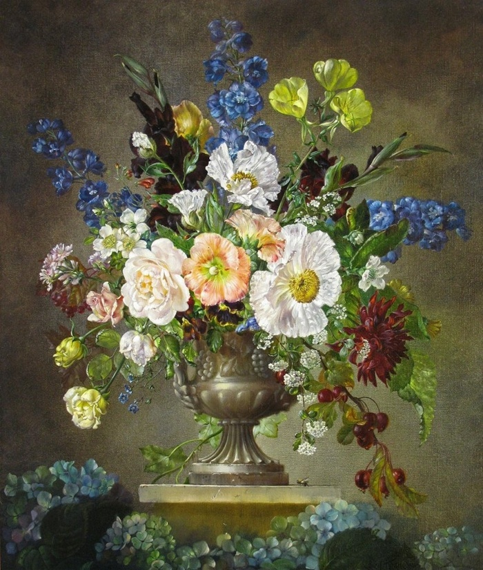 Cecil Kennedy 1905-1997 | British flowers painter
