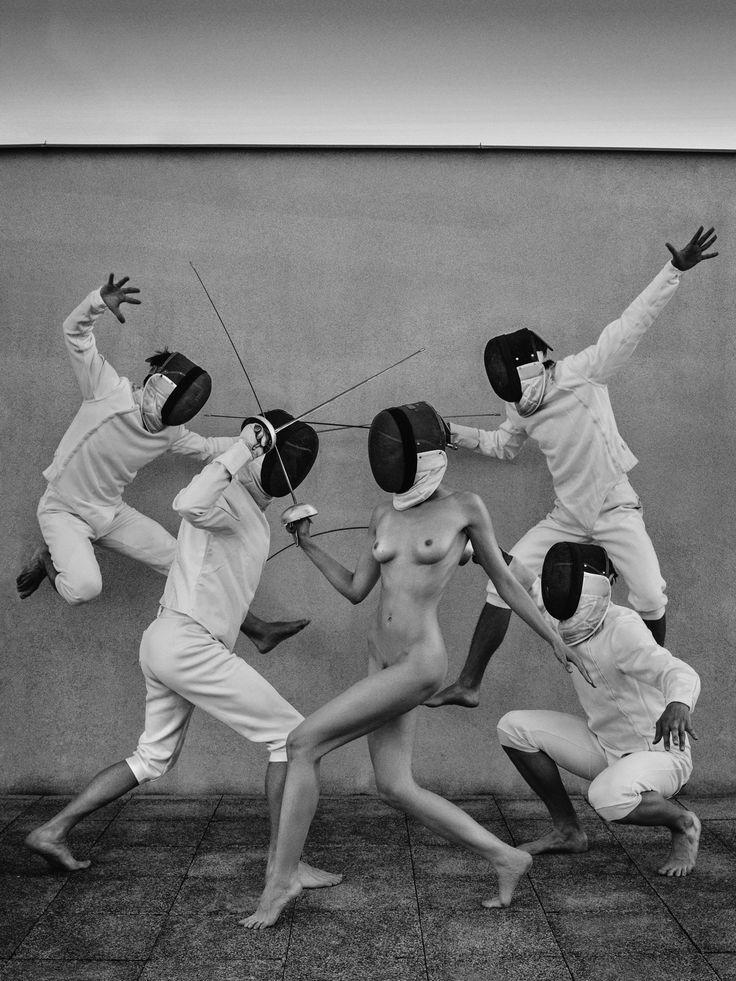 Fencers, foto by Lukáš Dvořák