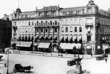 Gerbeaud Café Budapest, est. 1858