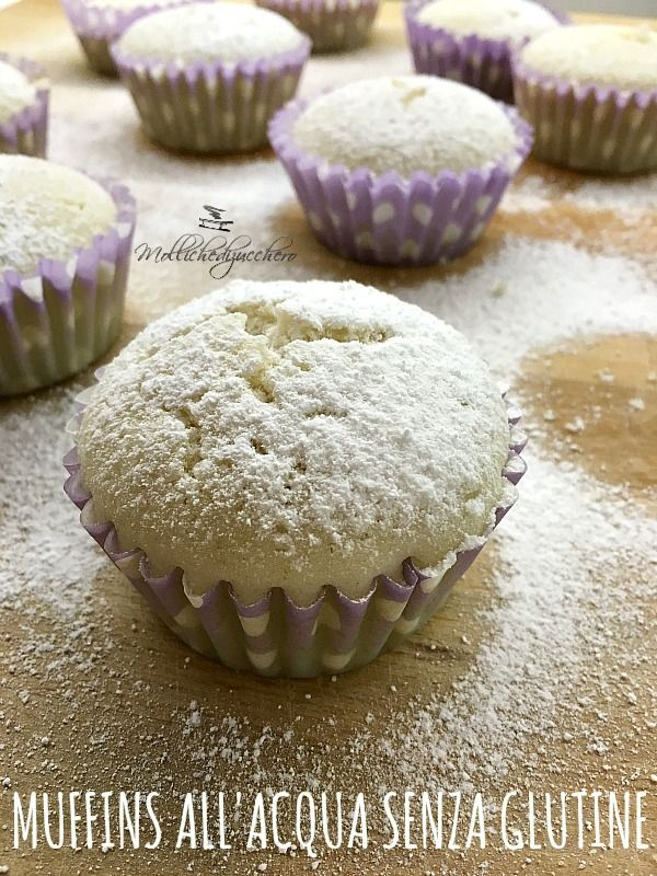 I muffins all'acqua senza glutine sono dei dolcetti leggerissimi, perfetti per gli intolleranti perchè non contengono latte, uova o altri grassi, grazie alla presenza di farina di riso sono ancora più leggeri e digeribiliRead more...