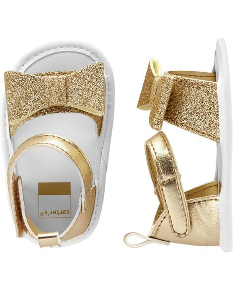 935bb2209cd36d Carter s Glitter Sandal Baby Shoes