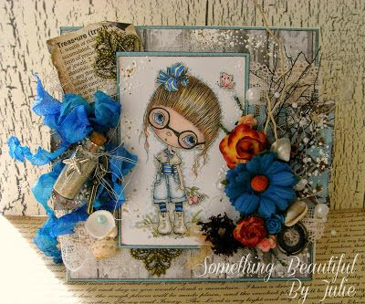 Winner - Palette #9 Something Beautiful By Julie: N is for Nautical at ABC Challenge