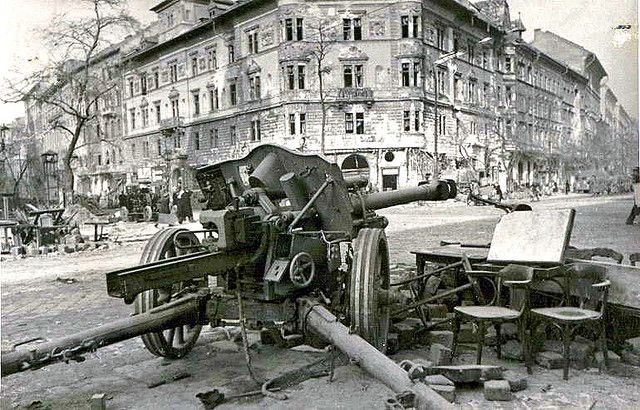 Budapest, Hungary - 1945