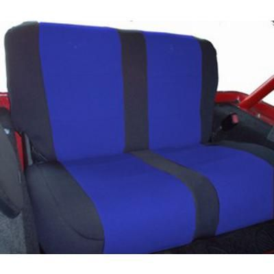 #autos #cars Coverking Neoprene Rear Seat Cover (Black/Blue) - SPC170: Coverking?s custom neoprene seat covers… #4wd #4wdparts #spareparts