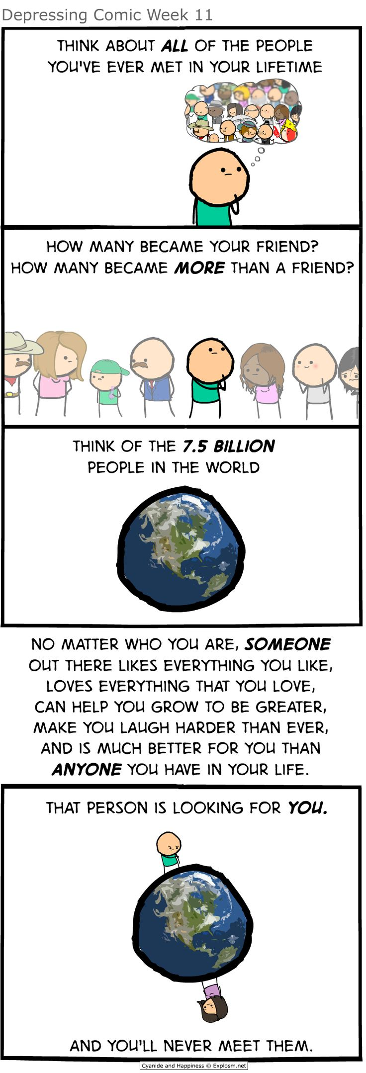 Depressing Comic Week 11 - Cyanide & Happiness (Explosm.net)