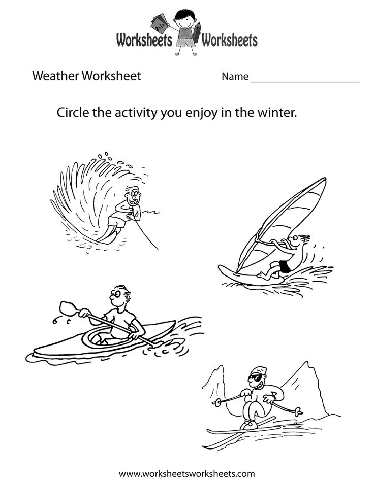 9 best Seasonal Worksheets images on Pinterest | Kid garden, Pre ...