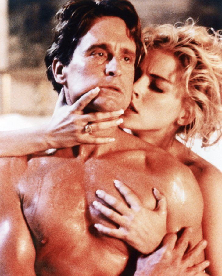 Pin for Later: 18 Sex-Filled Films to Stream on Netflix Basic Instinct Sharon Stone famously reveals everything in the 1992 thriller Basic Instinct.