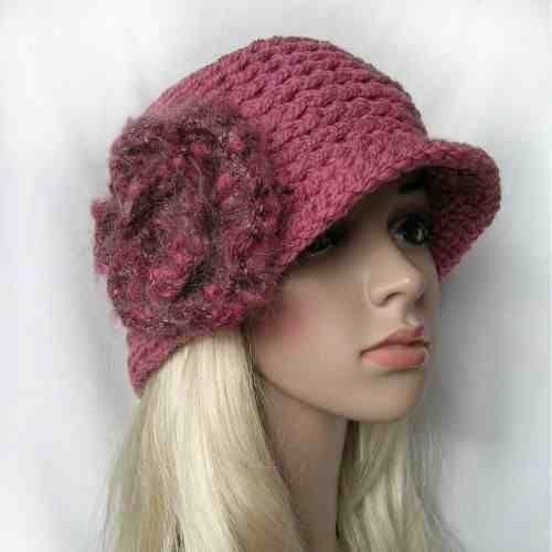 różowy kapelusik w KuferArt.pl