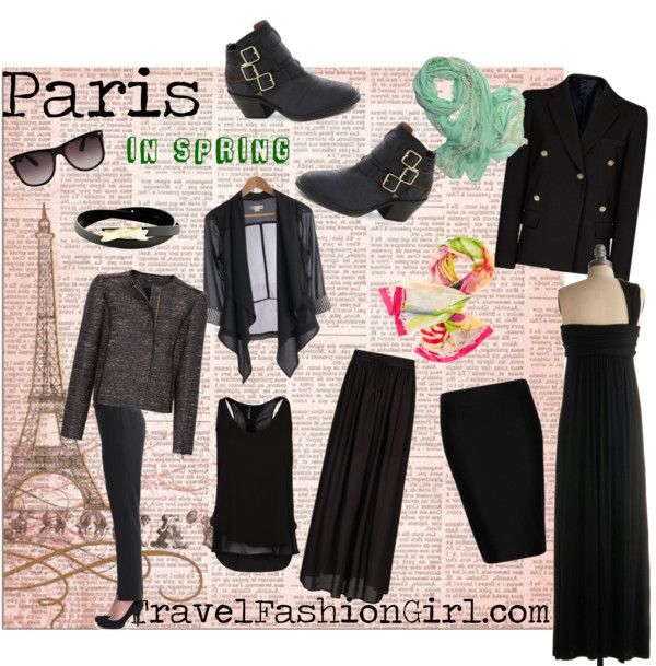 What to Wear in Paris: Packing the Perfect Wardrobe for Spring #travel #fashion #PackingList via TravelFashionGirl.com