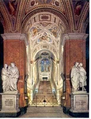 La Scala Sancta (Español: Escalera Santa) es, según la tradición cristiana, los escalones que llevan al pretorio de Poncio Pilato en Jerusalén, cuando Jesucristo estaba en Pasión en su camino al juicio.    Las escaleras fueron, según se dice, llevadas a Roma por Santa Elena en el siglo cuarto. Durante siglos, la Escalera Santa ha atraído a peregrinos cristianos que deseaban honrar la Pasión de Jesús.