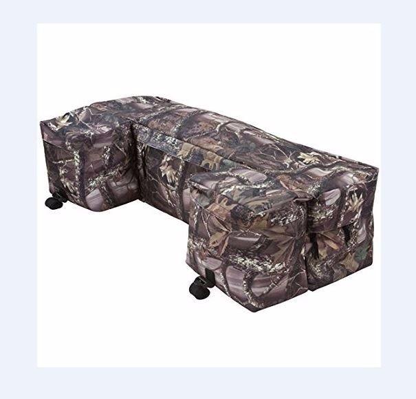 "#ebay #ATV #Bag #Rear #Rack #Water #Resistant #Storage #Multi-compartment & #15"" #Cargo Net #Sportspower"