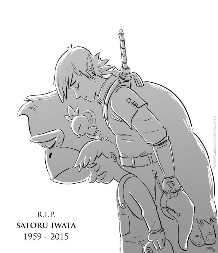 R.I.P Satoru Iwata by 3rdclover