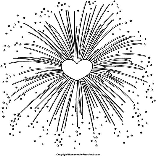Fun and free fireworks clipart, ready for PERSONAL and COMMERCIAL projects!