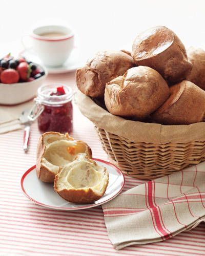 Warm Popovers with Berry Jam | Recipes | Pinterest