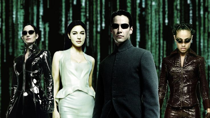 the matrix reloaded : image, wall, pic