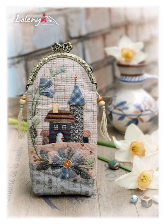 (1012) Gallery.ru / Eyeglass Case - Japanese patchwork 2 - lolenya