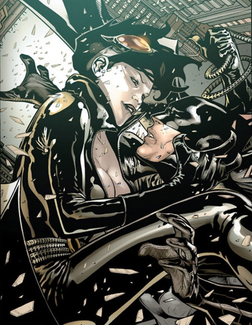 Batman and Catwoman (The new 52) :: I've seen a lot of renditions of this pair but this one really sticks out. The artwork is incredible
