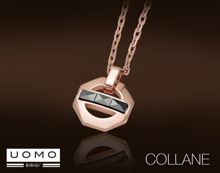 Un design minimalista e l'utilizzo di materiali non convenzionali sono i protagonisti della nuova collezione collane UOMO Bibigì. Una straordinaria versatilità di stile che permette di essere indossato con qualunque outift.