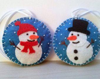 Feltro Natale ornamenti  decorazione di Natale del ragazzo