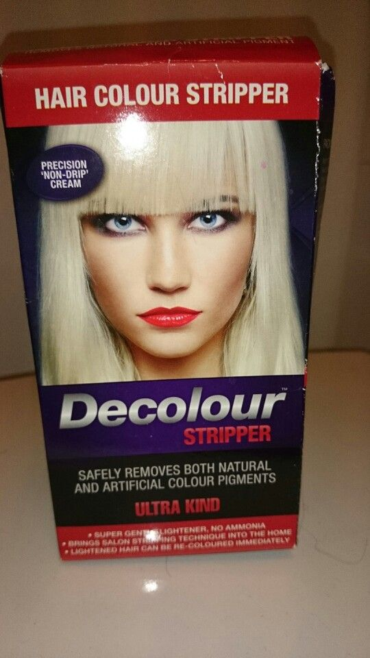 Best hair stripper ever! Removes ALL colours.