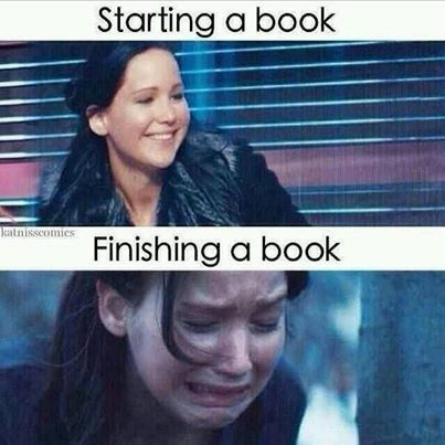 Finishing a great book is a serious bookworm problem.