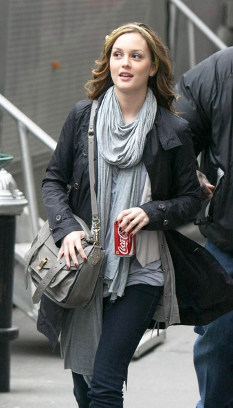 Leighton Meester and Proenza Schouler PS1 Bag