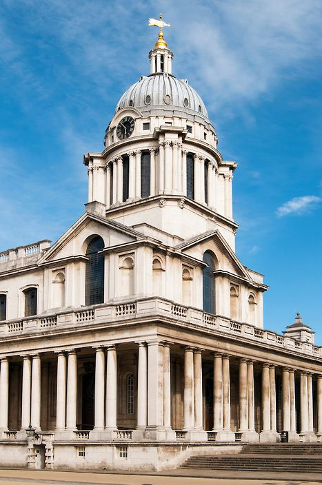 Queen Mary Court, Old Royal Naval College, University of Greenwich, London, England | Petr Svarc Images