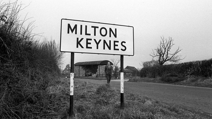 """Milton Keynes is celebrating 50 years since was created in 1967 to alleviate housing shortages in London.  Here are some facts you may not have known about the """"new town""""."""