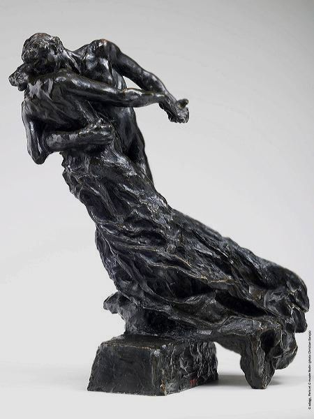 La Valse [The Waltz], 1889-1905, bronze. Camille Claudel. Rodin Museum