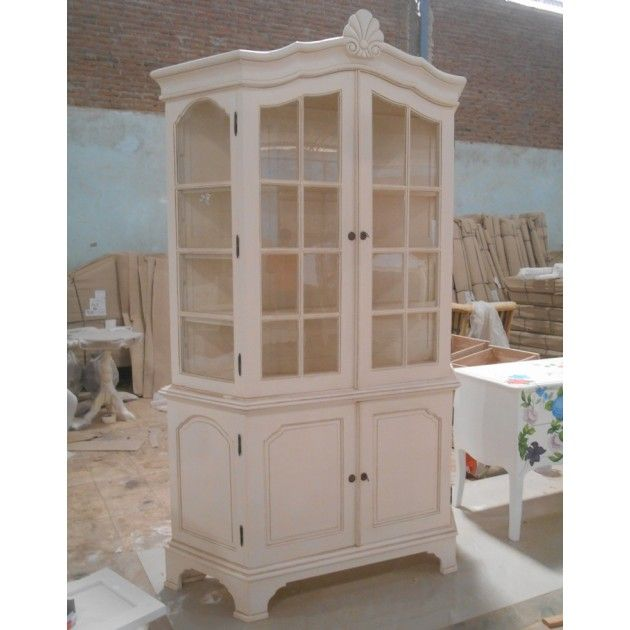French Chateau Large Dresser Display Cabinet