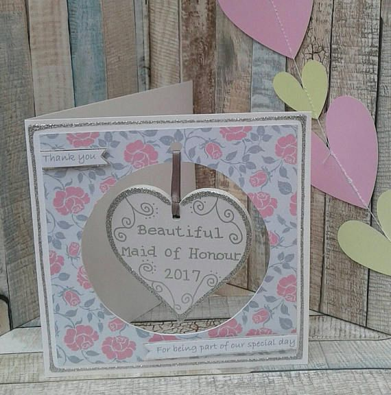 Check out this item in my Etsy shop https://www.etsy.com/uk/listing/526576345/maid-of-honour-thank-you-card-wedding