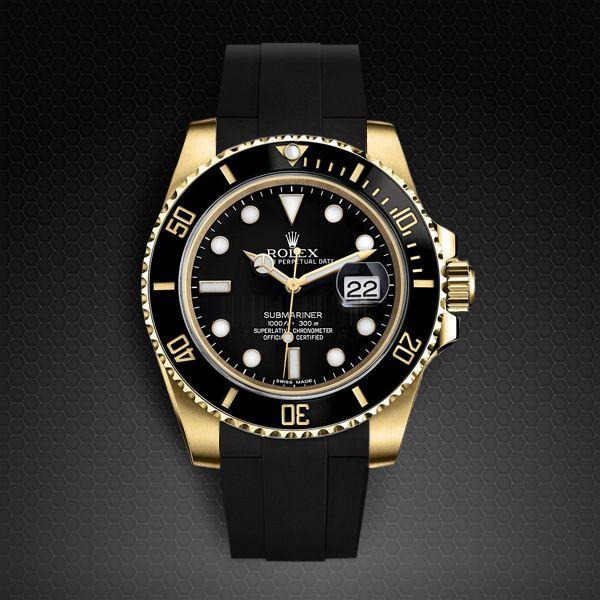 2016 rolex Submariner gold watch