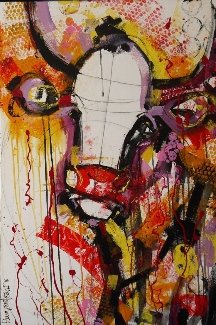 View Cow With Attitude by Irina Rumyantseva. Browse more art for sale at great prices. New art added daily. Buy original art direct from international artists. Shop now