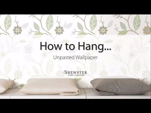 Brewster Home Fashions, Randolph MA.  How To Hang Wallpaper | Hanging Wallpaper | Wallpaper Hanging