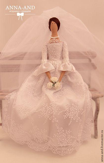 Куклы Тильды ручной работы. Ярмарка Мастеров - ручная работа Невеста. Handmade.